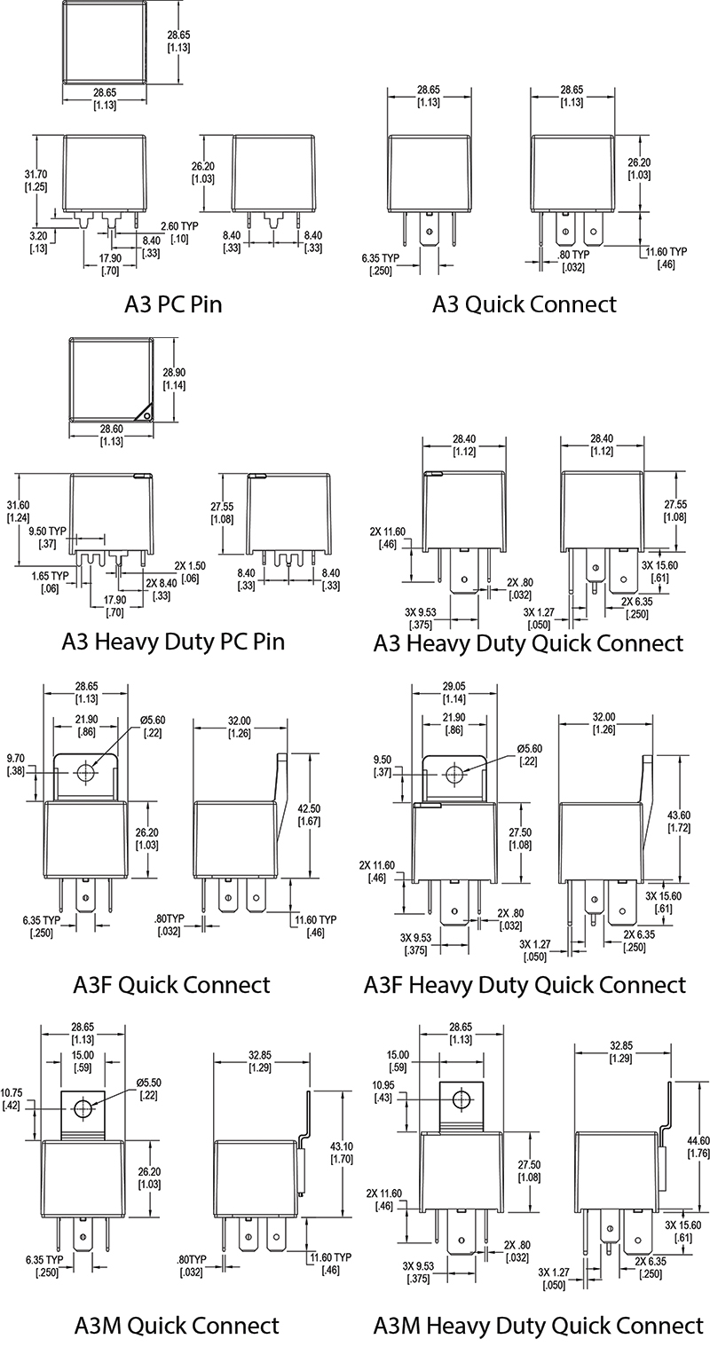 Song Chuan Relay 5 Pin Wiring Diagram Trusted Diagrams Dorman Micro Schematics