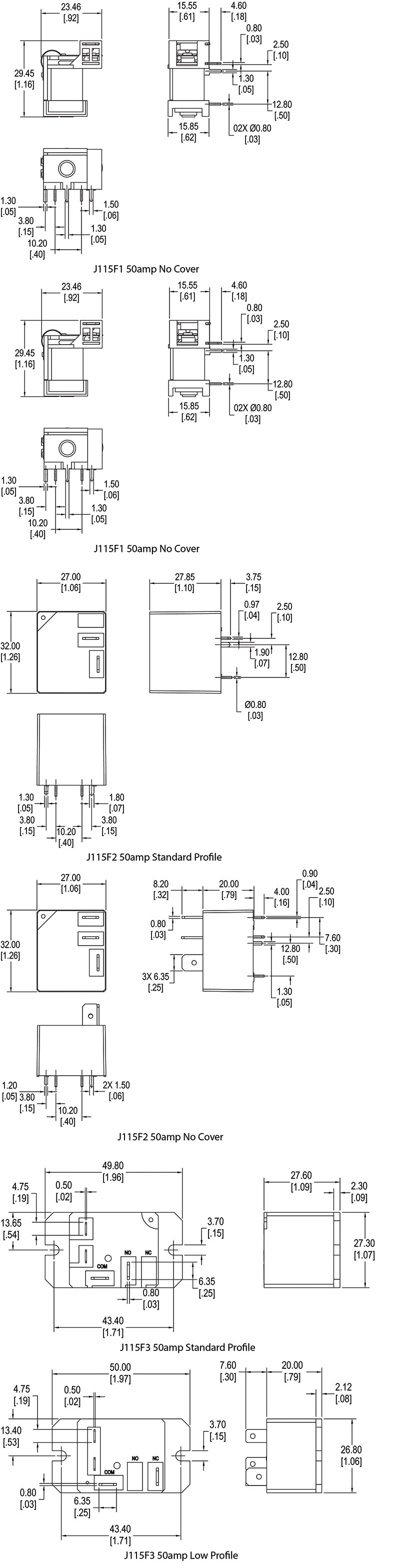 50 Amp Relay 240vac Cit And Switch 12 Volt Wiring Diagram 4 Pole 50amp Schematic