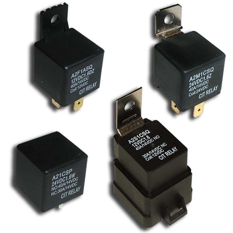 12VDC CIT Relay A2F1CSQ 12VDC1.6R new 40A-30A