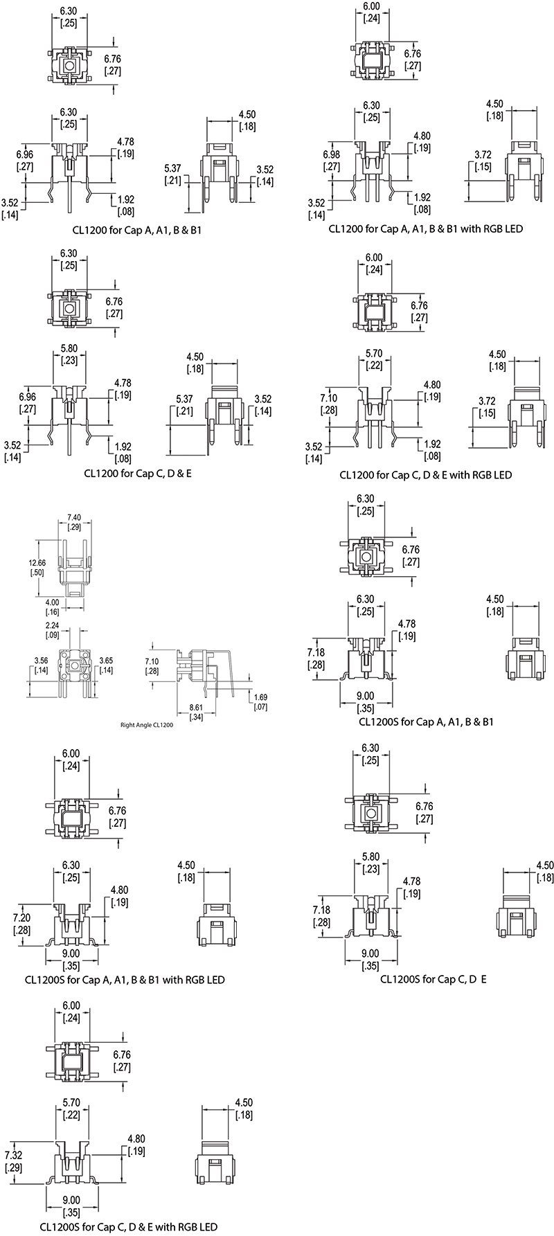Tactile Switch Schematic Diagrams Tact Wiring Led Spst Button