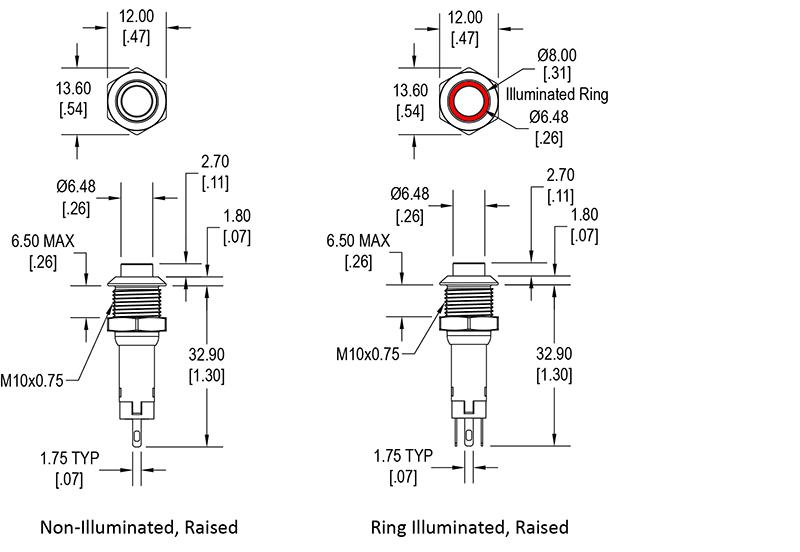 Illuminated Push Button Switch Wiring Diagram - Wiring Diagram